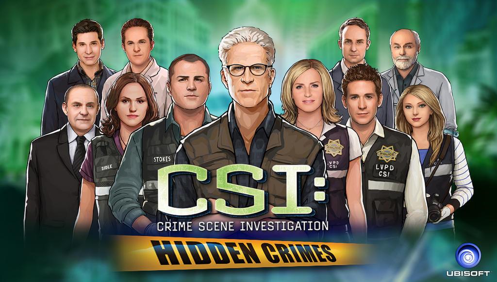 CSI: Hidden Crimes -Main cast by WhiteLeyth