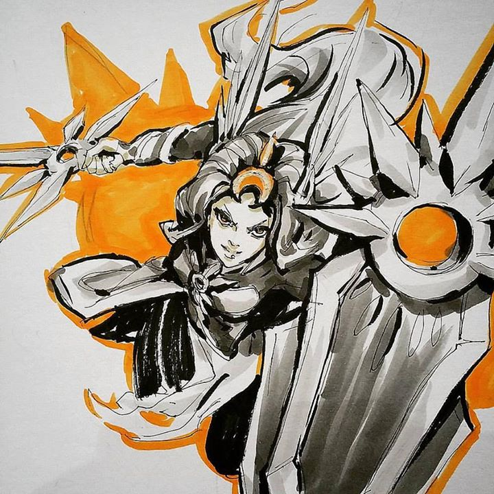 Leona League of legends by WhiteLeyth