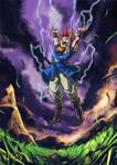 Crono prepares Lightning