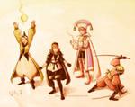 Final Fantasy III Final Party