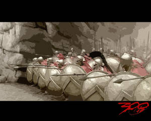 300 spartans in phalanx