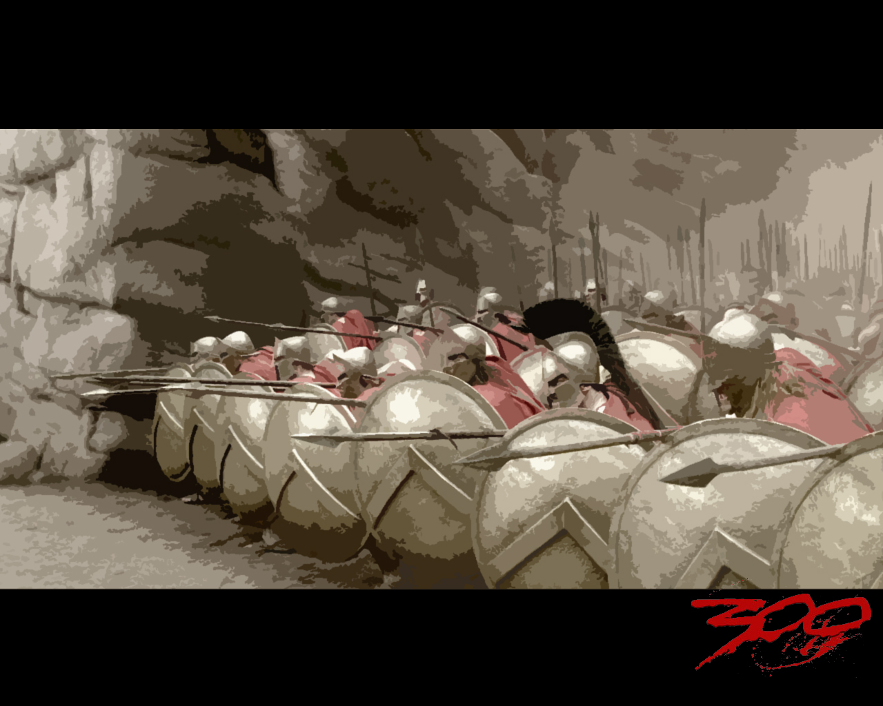 300 spartans in phalanx