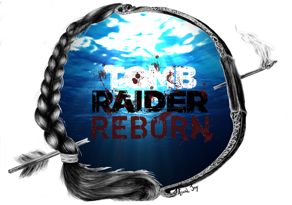 Lara Croft Reborn logo by ArualJay