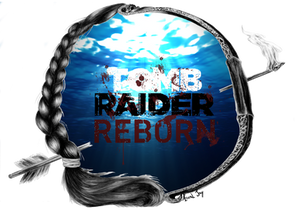 Lara Croft Reborn logo