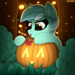 Lyra Heartsrings and butterfly