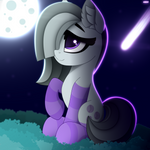 Marble Pie at night by AlexBefest