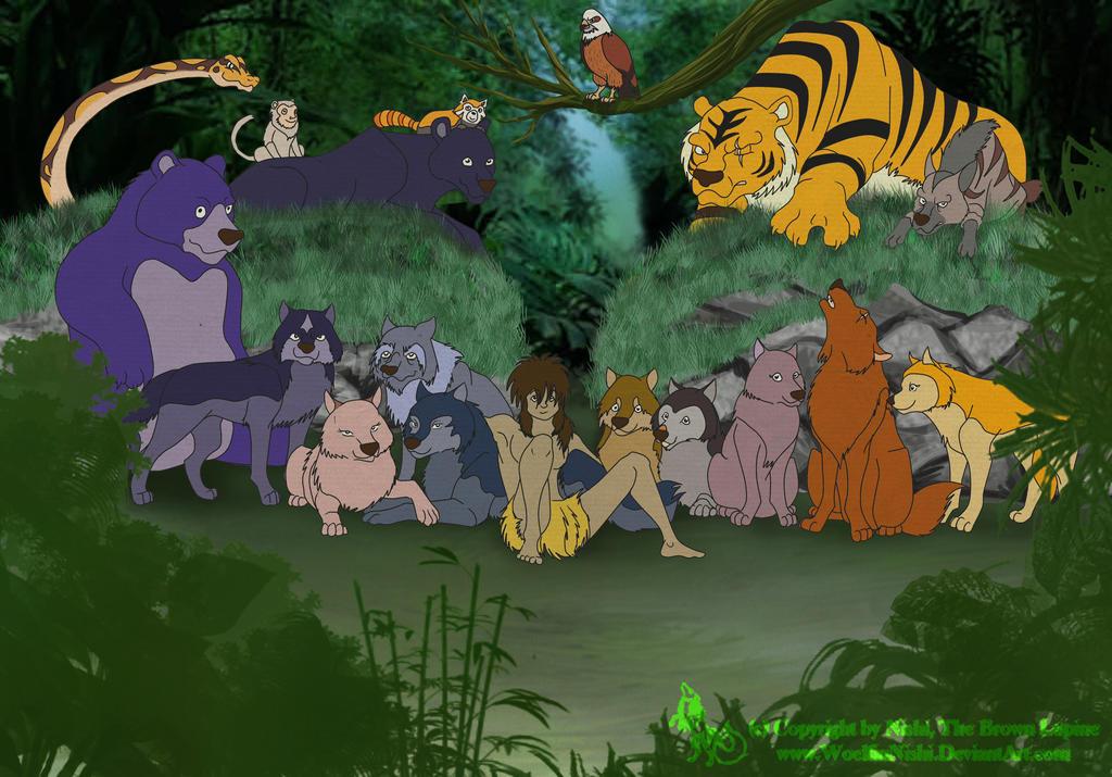Pubg Fanart By Rei Kaa On Deviantart: Jungle Book Shounen Mowgli By WoelfinNishi On DeviantArt