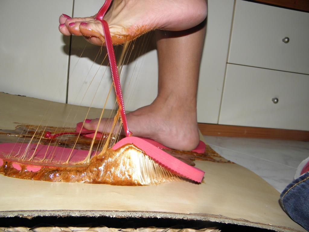 Flip Flop Nightmare..2  Model Sandra. by luk742003
