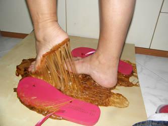 Flip Flop Nightmare..4  Model Sandra. by luk742003