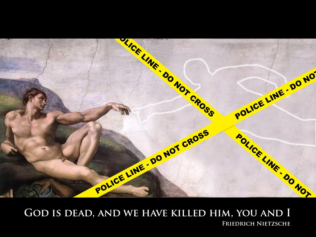 God Is Dead by Omnikron13