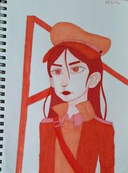 Red A by DarkSirap
