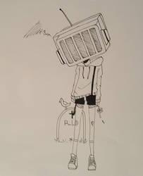 TV Head by DarkSirap