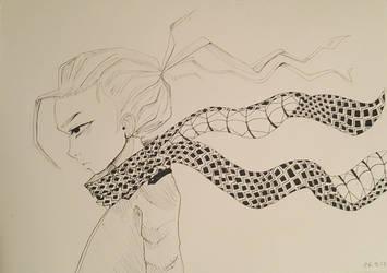 sneke scarf by DarkSirap