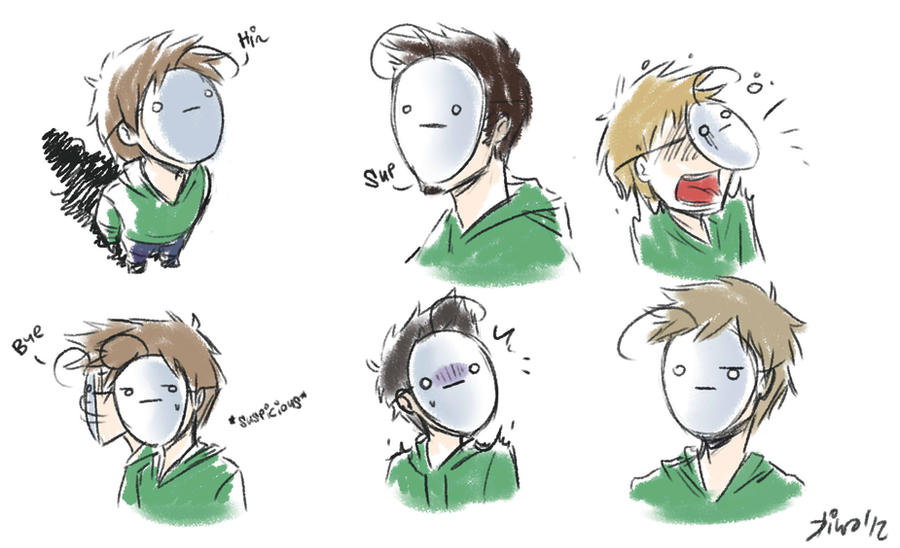 Cry faces by Kiwa007