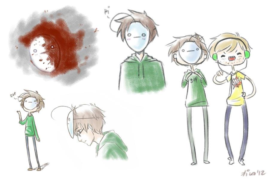 Cry doodles by Kiwa007