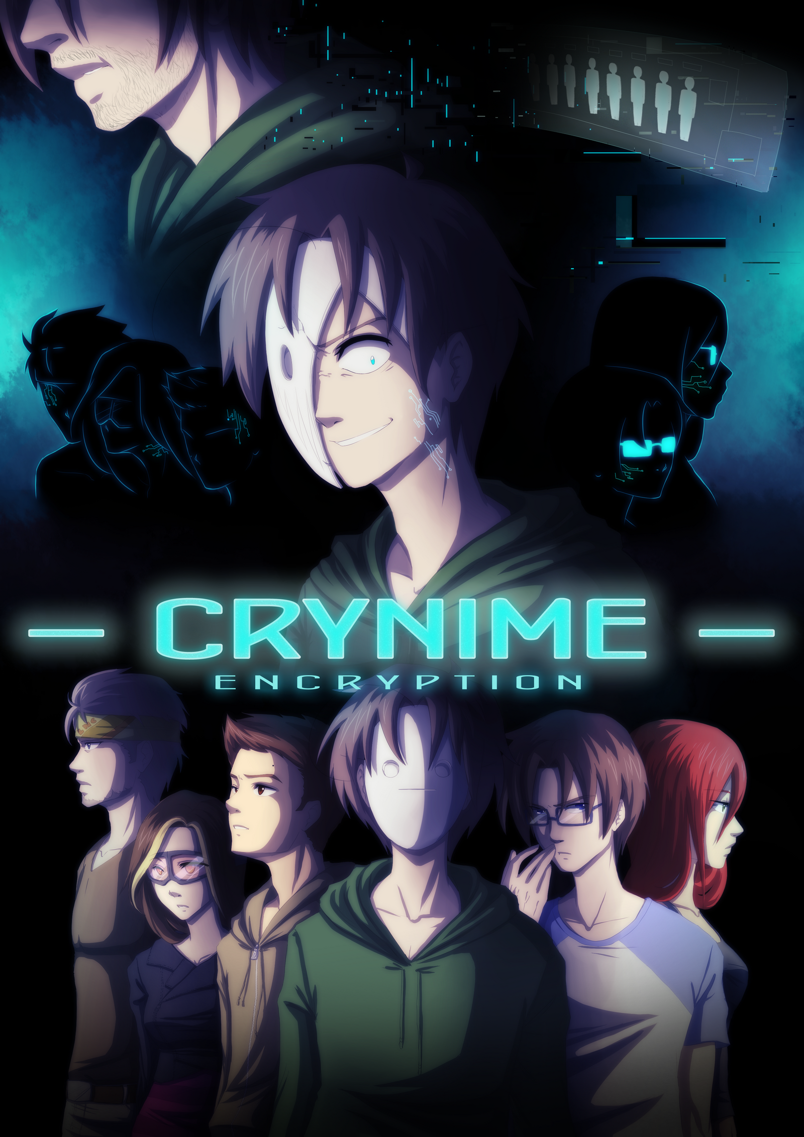 Project Crynime: E N C R Y P T I O N by Kiwa007