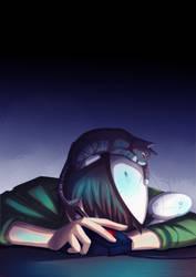 Cry with AK by Kiwa007
