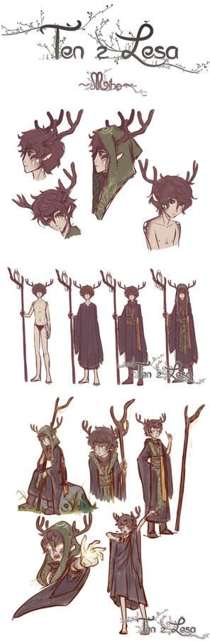Ten z Lesa: Miho