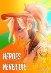 Mercy: Heroes Never Die by Kiwa007