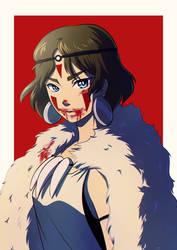 Mononoke by Kiwa007