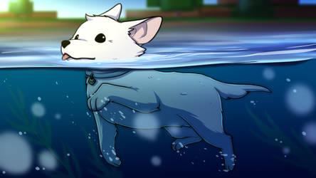Swimming Sven
