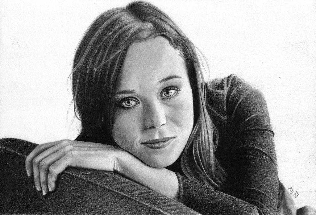Ellen Page by Andune88