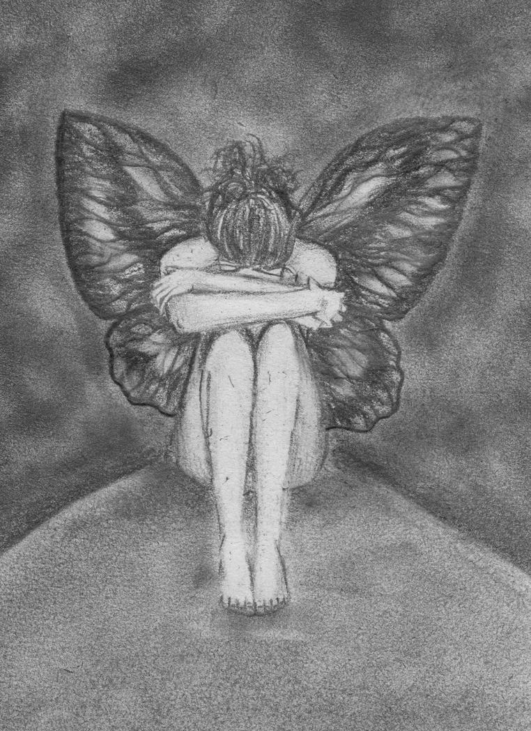 sad fairy by emil ka on deviantart
