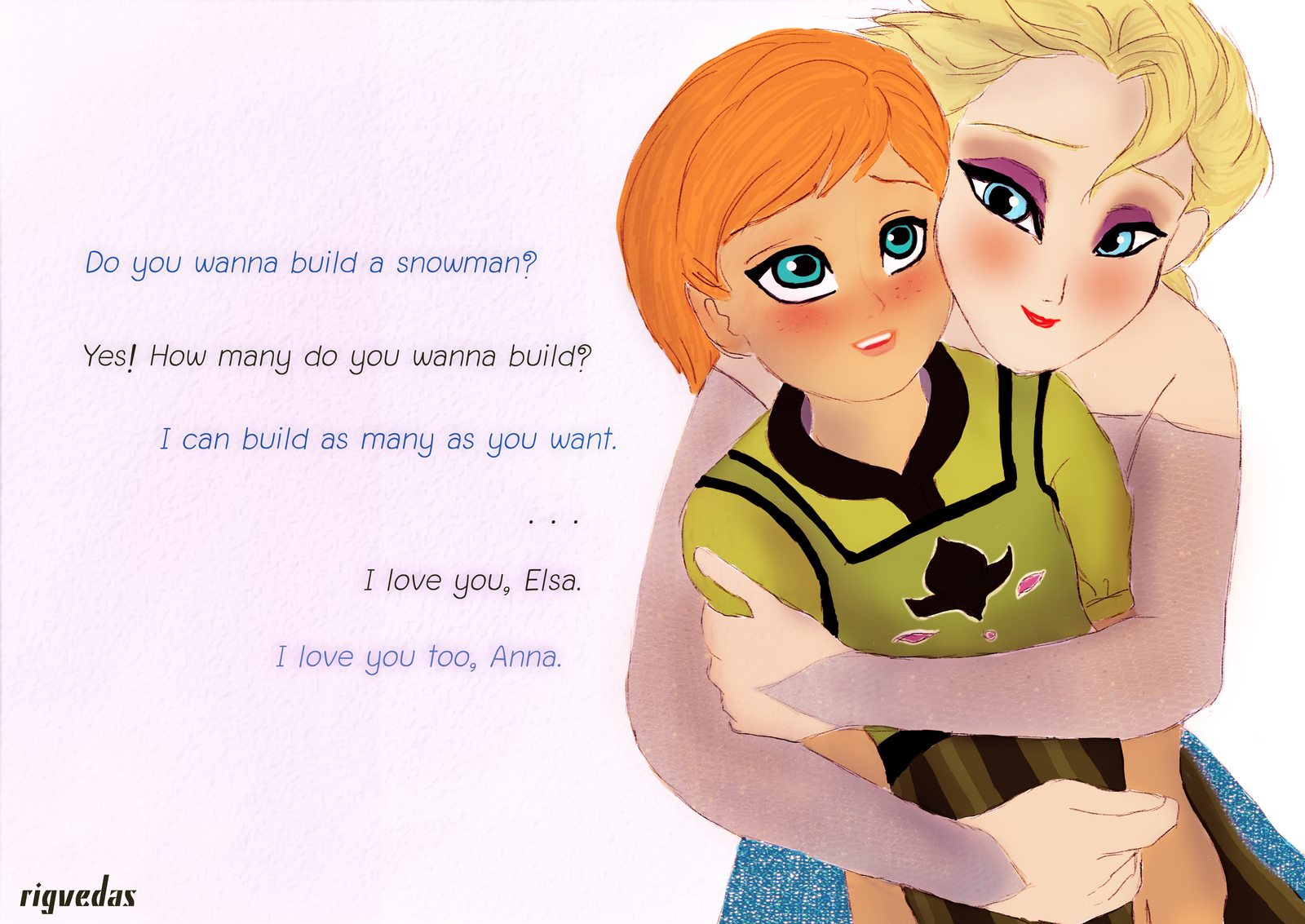 Elsanna - If I could turn back time by rigvedas