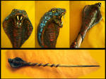 Serpent Magic Wand by LunaSolare1