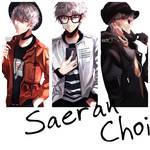 saeran choi + casual clothes