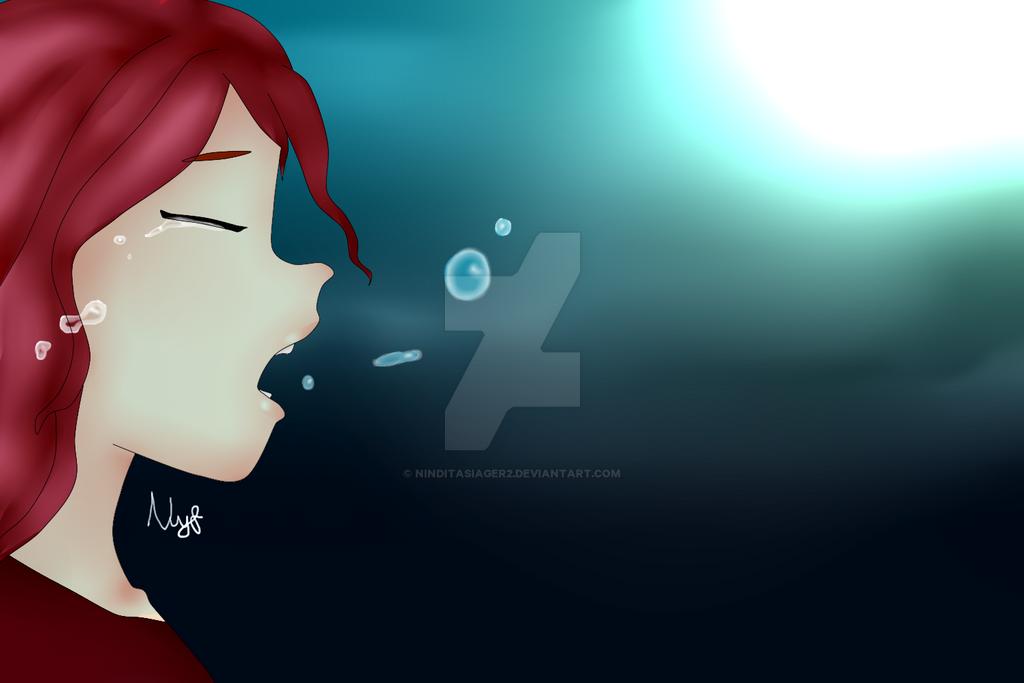 Crying Lisia by NinditaSiAger2