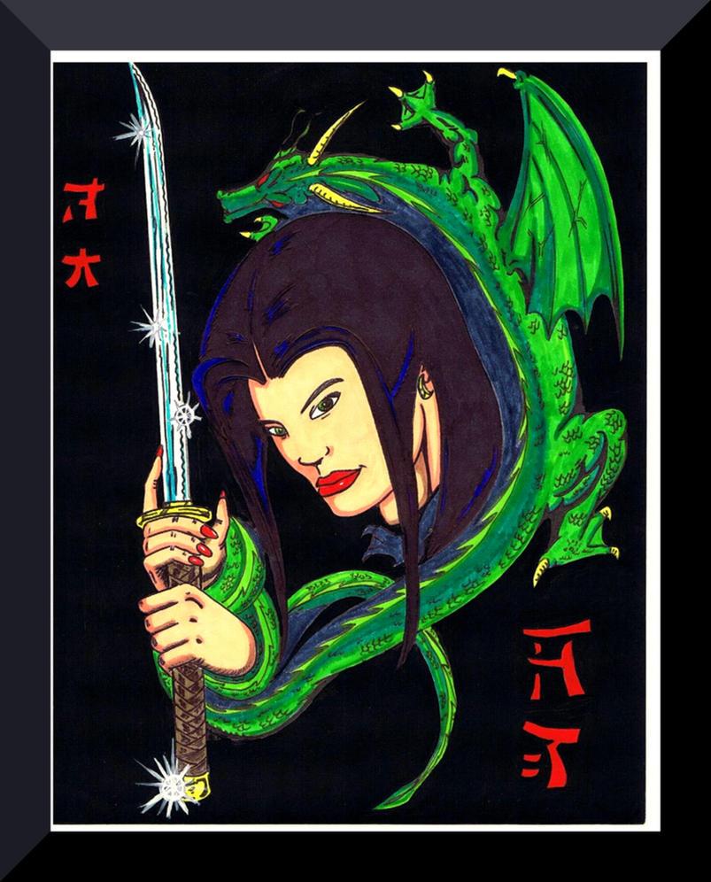 Samurai Girl by Lpsalsaman