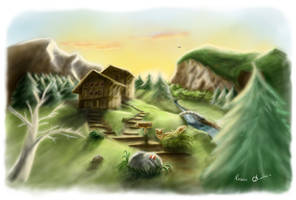 Mountain Shelters (Color)