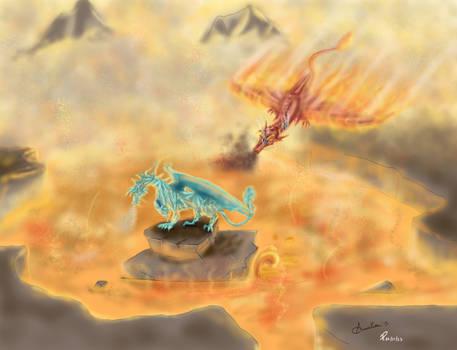 Lava dragons (Color)