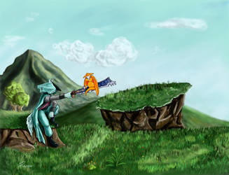 Dust - An Elysian Tail - tribute by sgnaFP