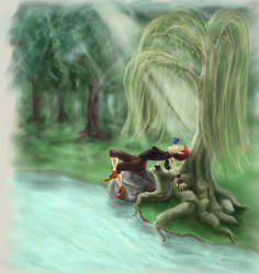 Dwarf elf (?) thief - RpG Character request