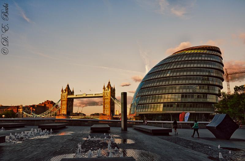 London Tower Bridge by debahi