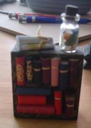Holda's Cauldron - Bookcase by Isavarg