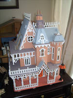 Haunted House Renovation - Front - BEFORE 1/4 by Isavarg