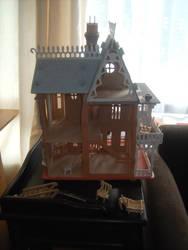 Haunted House Renovation - Back - BEFORE 4/4 by Isavarg