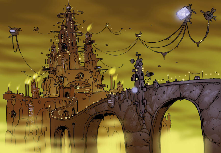 cyber_castle by komardin