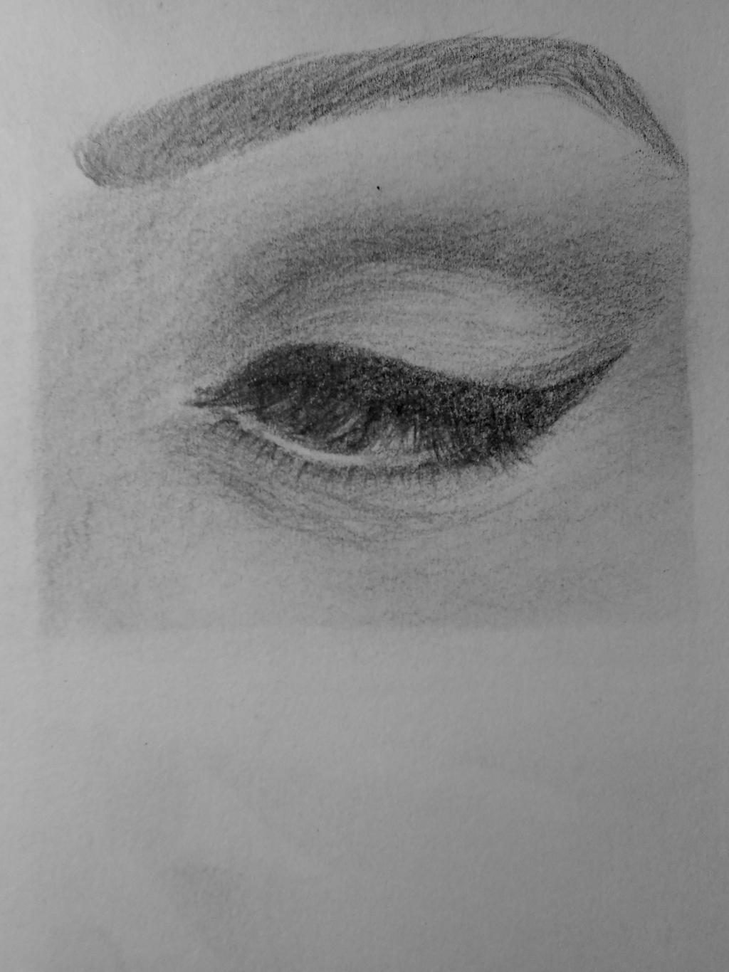 Eye Drawing by Zaiccu on DeviantArt