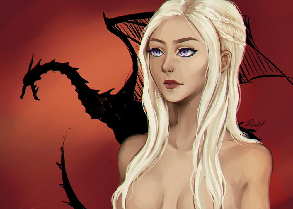 Daenerys by Bakaruru