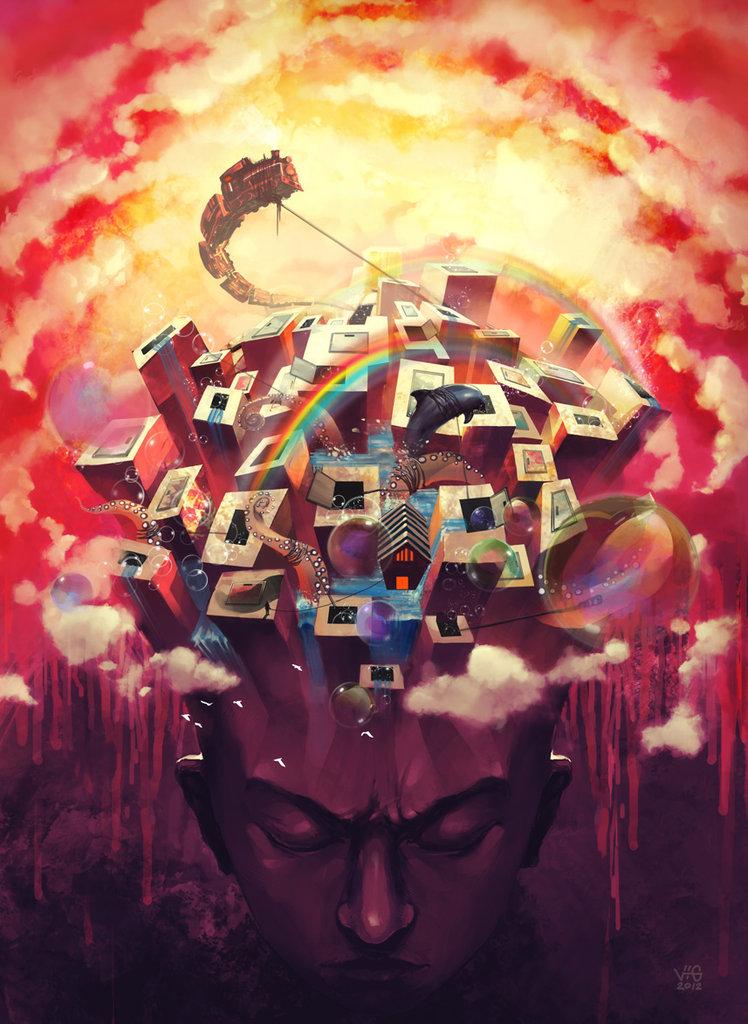 Random subconscious by vuogle