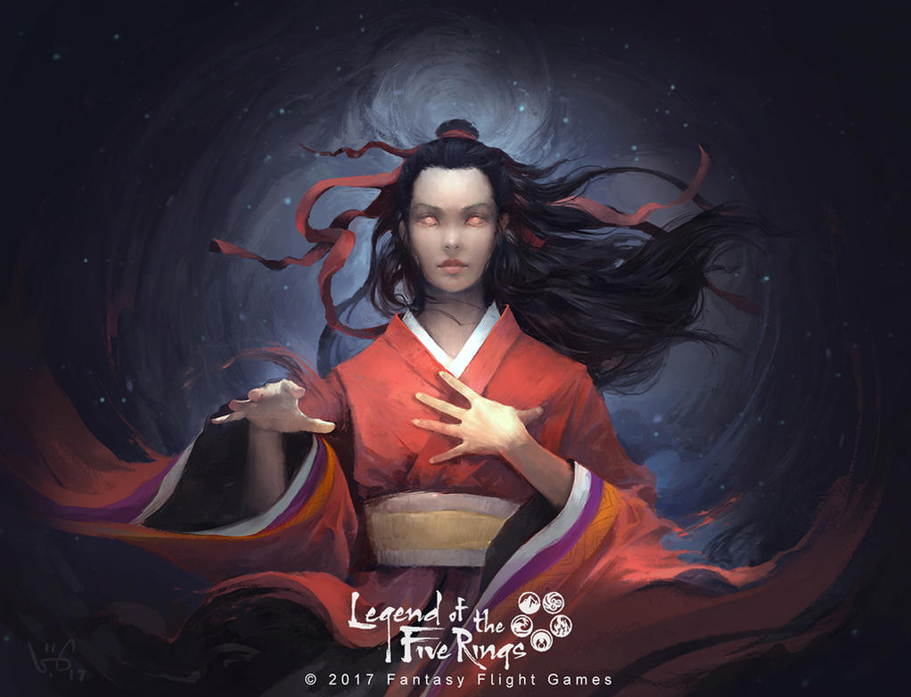 Isawa Kaede by vuogle