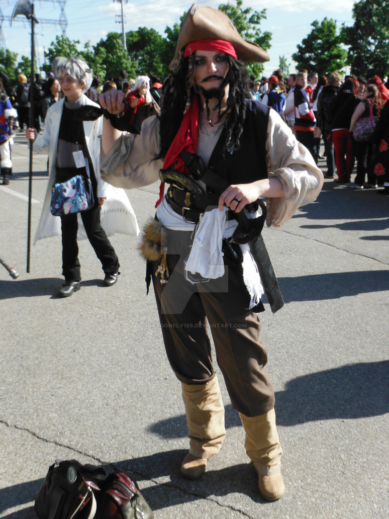 Jack Sparrow Cosplay By Dragonfly188 On Deviantart
