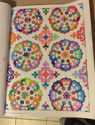 Book - Brain boosters coloring book. by DragonFly188