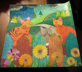 Colouring book calender for cat lovers by DragonFly188