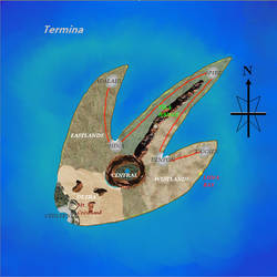 Map - Termina by Bahns