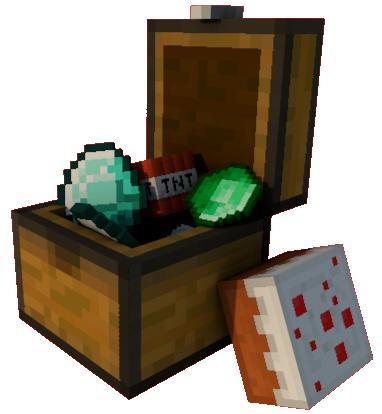 Minecraft - Chest Of Loot by Starap on DeviantArt
